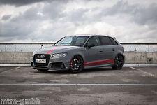 4x MTM Nardo Felge 8,5x19 ET 50 Schwarz 5x112 57,1 Audi RS3 8V Alufelge Satz