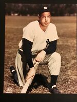 Joe DiMaggio 8x10 Color MLB Photo NEW YORK YANKEE GREAT-HOF