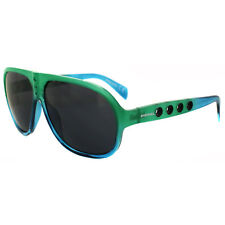 Diesel Sunglasses DL0097 98A Green & Blue Grey