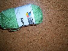 (100 g =4,70 €) Micro Wolle dünn Strickgarn Schachenmayr 50 g Polyacryl