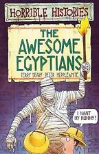 NEW - AWESOME EGYPTIANS  (HORRIBLE HISTORIES)  OLD COVER