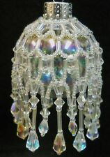 "PATTERN ONLY Beaded Christmas Ornament Cover Holiday Original ""Icicles"""