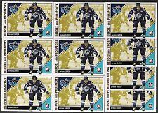 JORDAN CARON 07/08 ITG H&P RC Pre-Rookie RC Lot of (10) Boston Bruins *HOT*