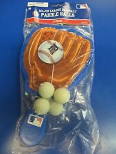 Detroit Tigers MLB Pro Baseball Glove Sports Party Favor Toy Paddle Ball Games