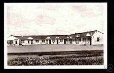 Sac City Iowa c1939 RPPC Irwin Motel PC IA