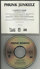 PHUNK JUNKEEZ I love it Loud RARE MIX w/ KISS Remake Cover PROMO DJ CD single