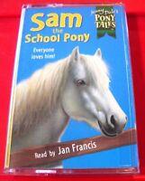 Jenny Dale Sam The School Pony - Pony Tales Tape Audio Book Jan Francis