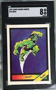 Hulk Solo 1987 Comic Images Marvel #76 SGC 8