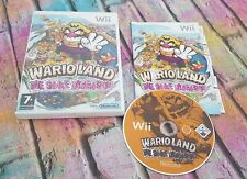 WARIO LAND THE SHAKE DIMENSION NINTENDO WII / WII U GAME OFFICIAL FREE UK P&P!