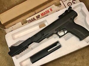 Benjamin Trail NP Mark II .177 Nitro Piston Break Barrel Pellet Air Pistol