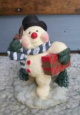 Retro 1974 Adorable Vintage Frosty Snowman Christmas Decoration Figurine