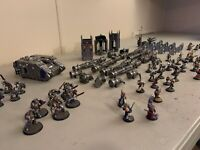 ASTRA MILITARUM IMPERIAL GUARD GK Grey Knights metal old painted warhammer 40k
