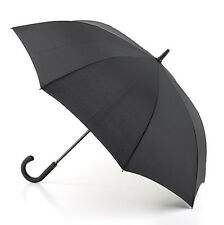 Fulton Ascot Black Ultra Slim Pencil Umbrella Easy Open Wind Stop 67cm