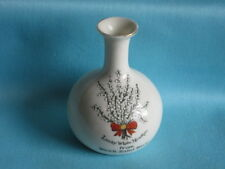 One and All British [china] Vase -  'From Week Saint Mary'