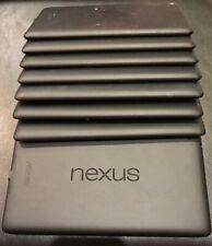 JOBLOT 9x Google 2nd Generation 2013 nexus 7 Black 16GB Tablet Asus- Faulty
