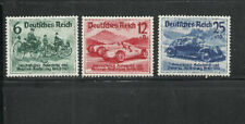 GERMANY THIRD REICH 1939 AUTOMOBILE CAR MERCEDES/VOLKSWAGEN EXPO BERLIN ! MNH OG