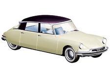 NOREV 1956 CITROEN DS 19 CHAMPAGNE & AUBERGINE 1/18 DIECAST CAR 181565
