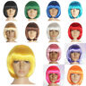 Hot Sale Party Straight Short Costume Synthetic fiber Halloween Bob Hair Wigs