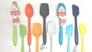 Baking Spatula Mini Small Silicone Spatula Heat Reistant Spoon Utensils O3H4
