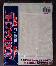Jordache Thermal Underwear Pants Drawer Waffle Men's Large 36/38 NOS