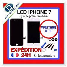 VITRE TACTILE + ECRAN LCD RETINA ASSEMBLÉ SUR CHASSIS POUR IPHONE 7 NOIR /BLANC