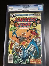 FANTASTIC FOUR #202 CGC 9.0 WPGS MARV WOLFMAN STORY IRON MAN APPEARANCE As Pics