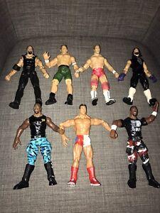 1999 Bundle WWE Figures X 7 Undertaker D-Von Jon Cena