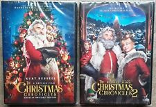 The Christmas Chronicles 1 & 2  (2 separate DVD's)  Kurt Russell Goldie Hawn