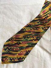 MISSONI Cravatta Tie Original 100% Seta Silk Made in Italy Nuova New