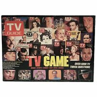 TV Guide's Board Game Vintage 1984 Family Fun Trivia COMPLETE & MINT