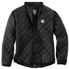 Black quilted coat mens