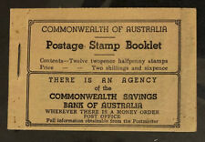 AUSTRALIA  SB28  Beautiful  Mint  Never  Hinged  BOOKLET  BD1