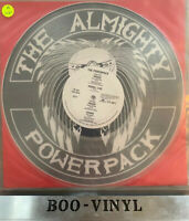 "The Almighty, Powerpack 12"", Clear Vinyl Rare Dub Versions Ex Con"