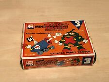 Vintage Imai Mini Robo Datchi Model Kit No.3 Pirate Cannon-Ball Galactic Robot