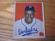 1949 Bowman Rookie Jackie Robinson Brooklyn Dodgers #50 Sharp Color