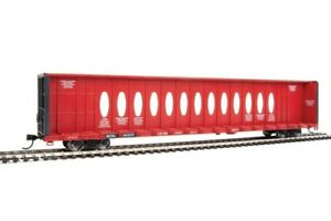 Walthers Mainline 72' Centerbeam Flatcar with Opera Windows British Columbia RWY