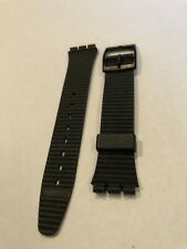 New Vintage Swatch Watch Band Strap For GB406 x Rated Rare 1987