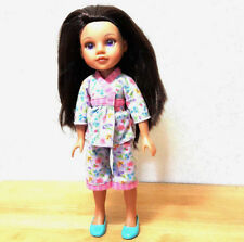 """2010 Playmates Hearts for Hearts G2G Doll Consuelo 14"""" Eyes Turned Purple"""