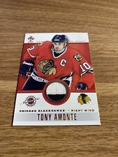 Tony Amonte 01-02 Pacific Private Stock Authentic Game Worn Jersey
