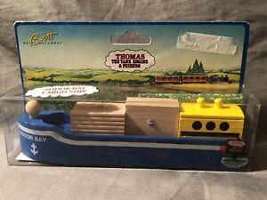 Thomas & Friends Wooden Railway Train Tank Engine Sodor Bay Cargo Ship Boat