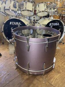 Tama Granstar Custom heather metallic lacquer 16 x 24 Bass Drum Local P/U