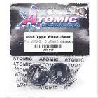 Atomic Dish Wheels Rear AR-117 Mini-Z (0 Offset Black)
