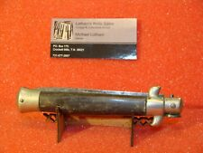 "G.C. Co-Gutman Cutlery Co-Italian-9"" or 23 Cm-Stilleto-1950S-Pick Lock-Horn"