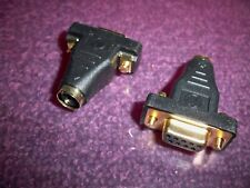 PS2 PS/2 6 pin FEMALE to 9 Pin Serial DB9 FEMALE Serial Mouse Adapter - PS2 Port