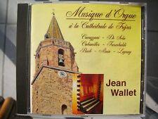 Cd Musique d'Orgue à la Cathédrale Fréjus - Jean WALLET