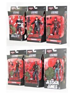 Marvel Legends, Blade, Punisher, Bullseye, Electra, Jessica Jones