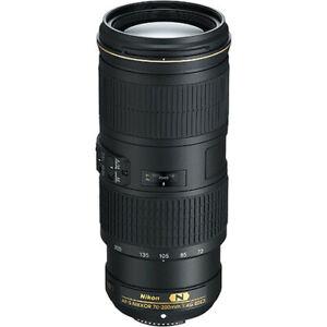 Nikon AF-S NIKKOR 70-200mm f/4G ED VR Lens - Genuine Australian Stock