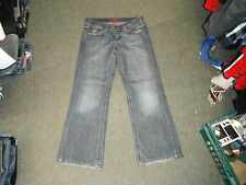 "Oasis  Bootcut Size 14 Leg 31"" Faded Dark Blue Ladies Jeans"