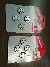 BURTON Aluminum Logo Stomp Pad Mat 2-Pack Snowboard Extra Traction On Chairlift