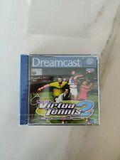 Virtua Tennis 2 NEW SEALED BLISTER Sega Dreamcast DC PAL Collector